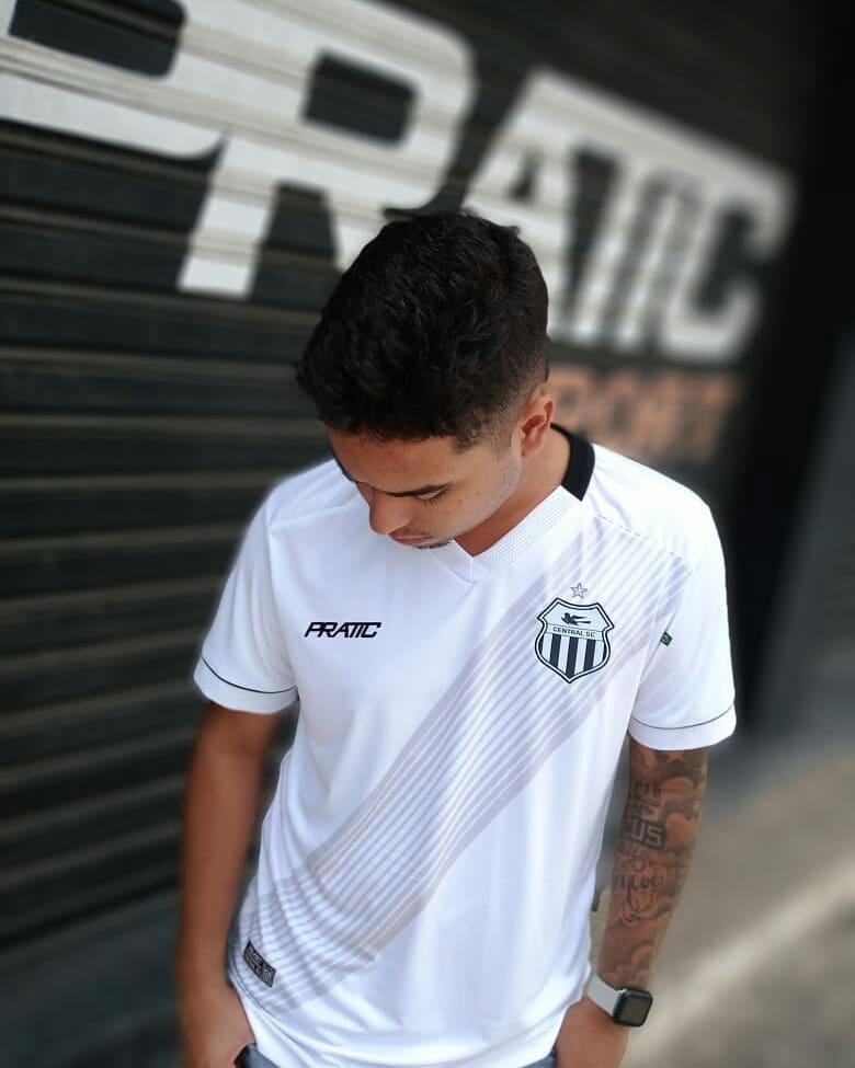 Camisa reserva do Central de Caruaru 2020-2021 Pratic Sport
