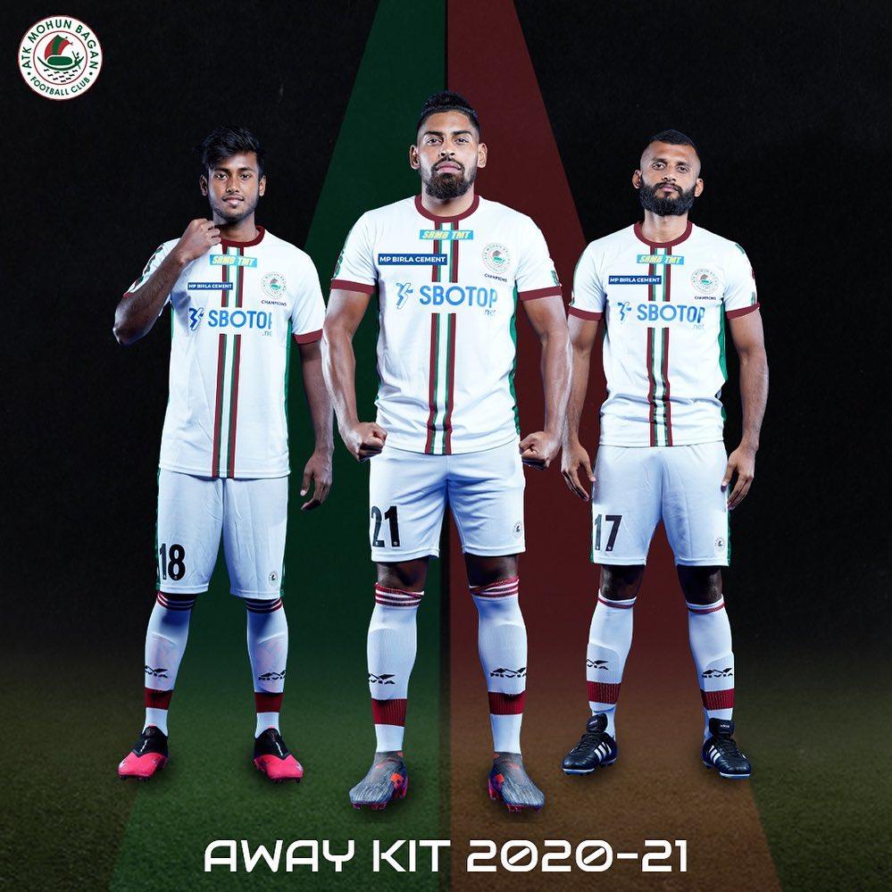 Camisas do ATK Mohun Bagan 2020-2021 Nivia