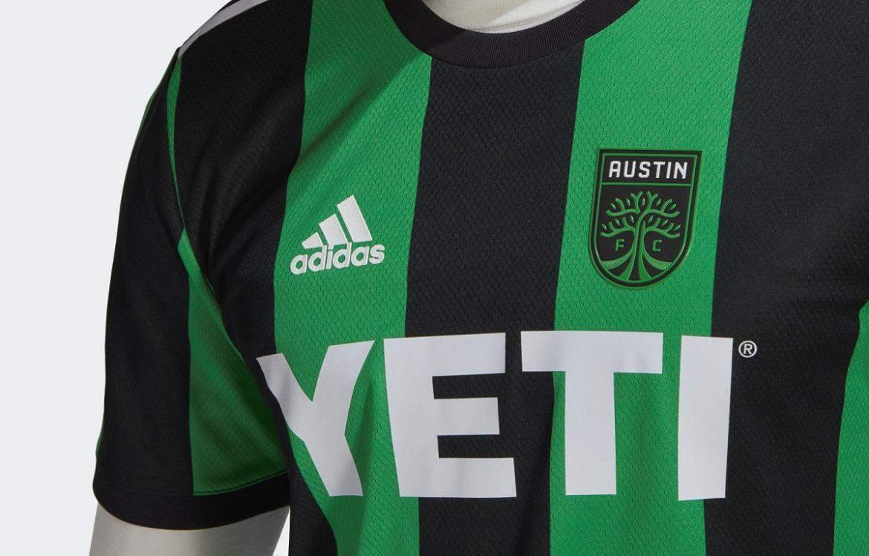 Camisas do Austin FC 2020-2021 Adidas
