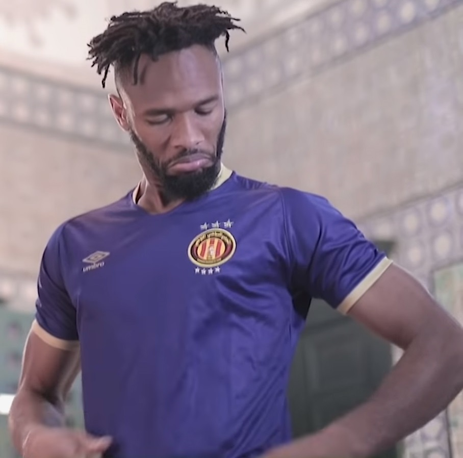 Camisas do Espérance de Tunis 2020-2021 Umbro