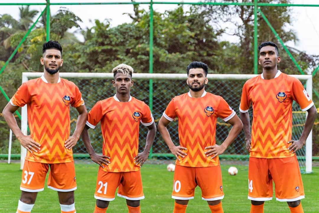 Camisas do FC Goa 2020-2021 Six5Six