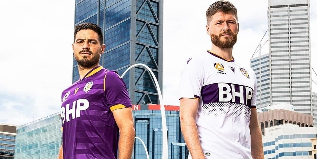 Camisas do Perth Glory 2020-2021 Macron