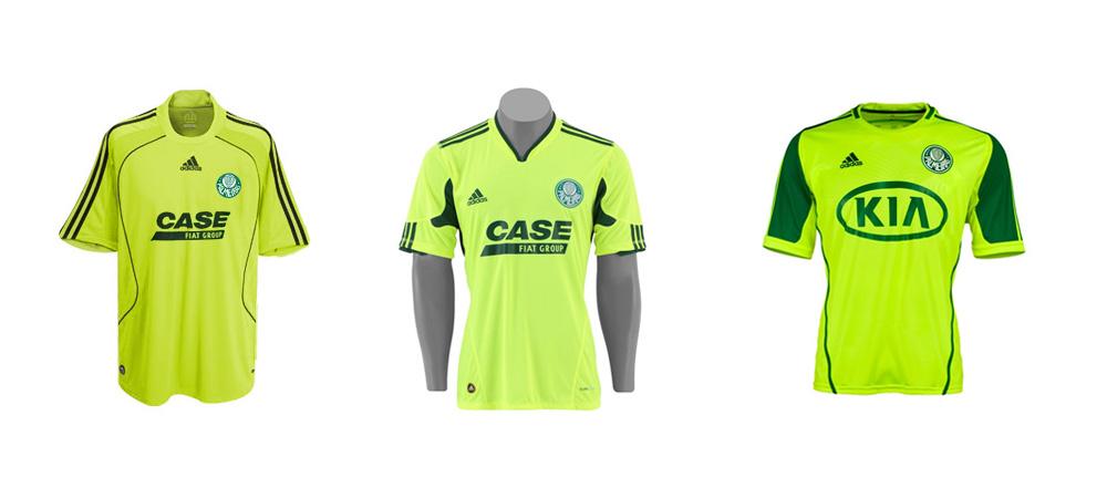 Camisas verde limão do Palmeiras Adidas