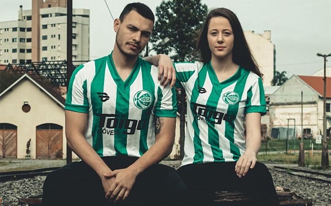 EC Juventude e 19Treze lançam nova camisa retrô da coleção Lendárias