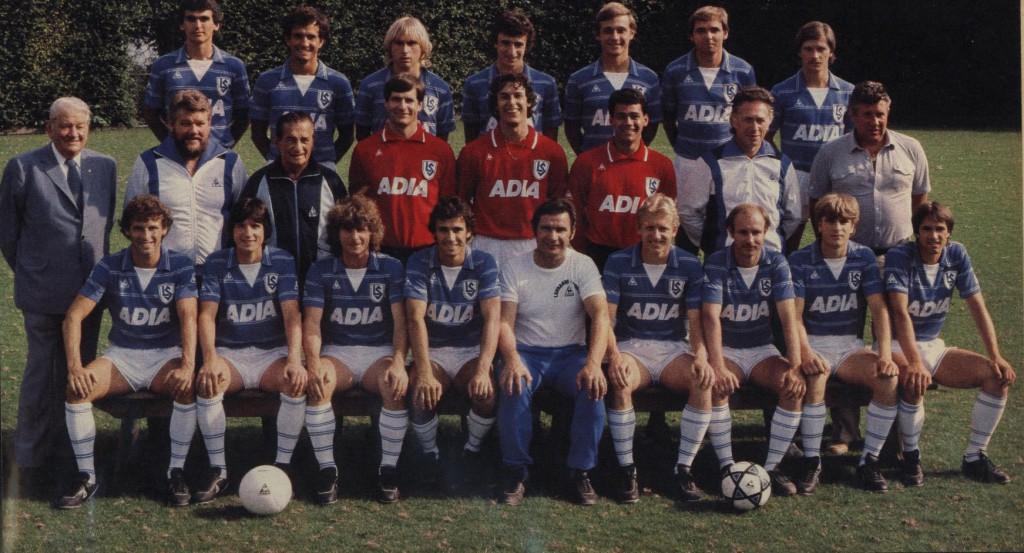 Lausanne-Sport lança camisa retrô de 1981