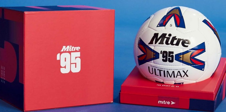 Mitre relança bola Ultimax 95 da Premier League