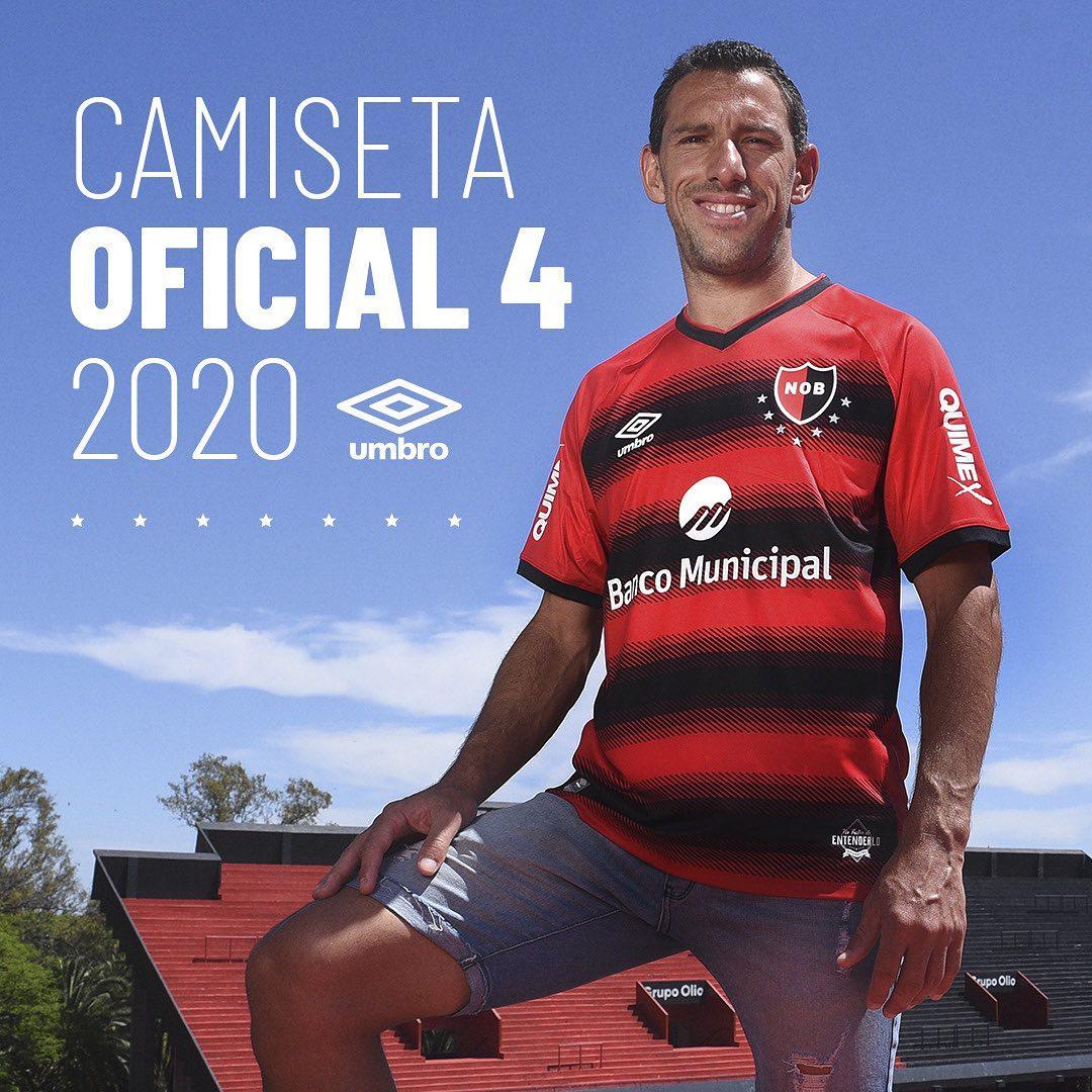 Quarta camisa do Newells Old Boys 2020-2021 Umbro