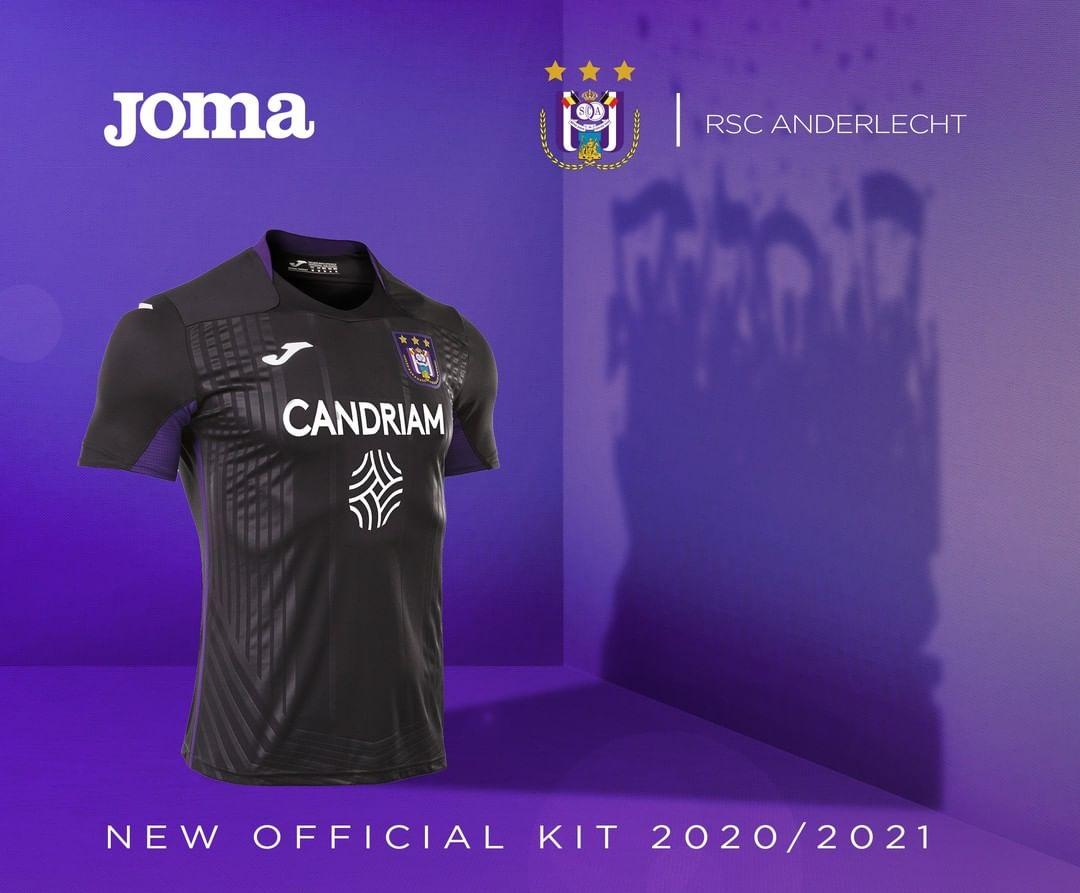 Terceira camisa do Anderlecht 2020-2021 JOMA