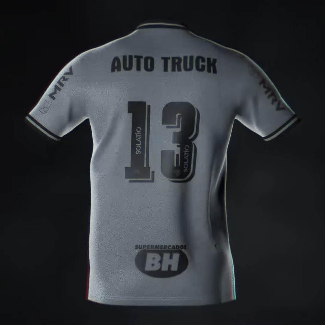 Terceira camisa do Atlético Mineiro 2020-2021 Le Coq Sportif