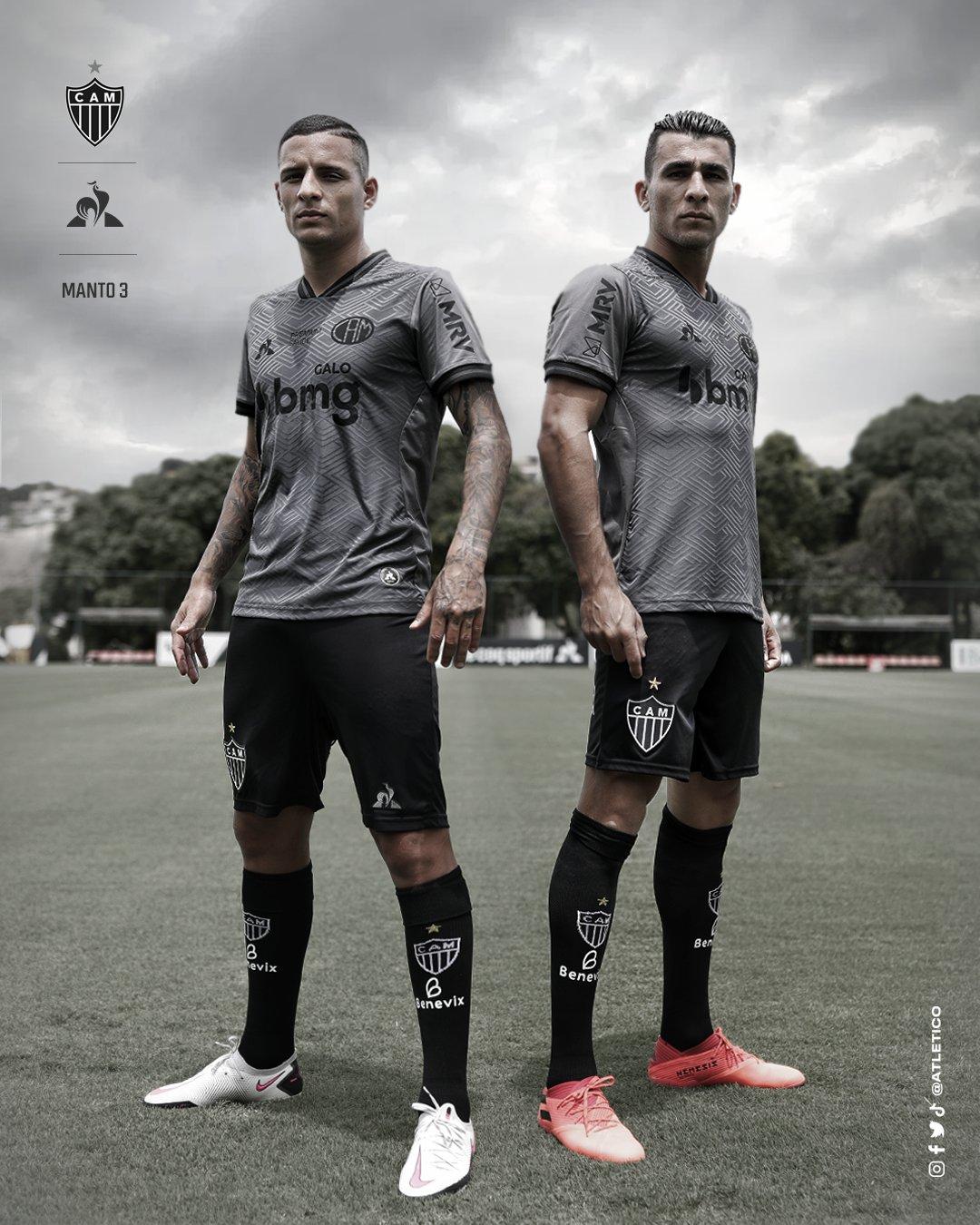 Terceira Camisa Do Atl U00e9tico Mineiro 2020 2021 Le Coq