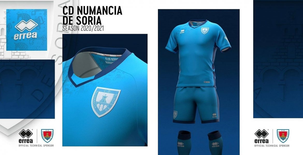Terceira camisa do CD Numancia 2020