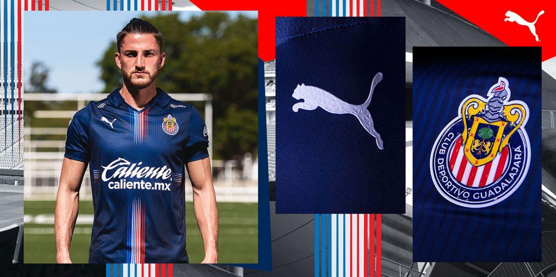 Terceira camisa do Chivas Guadalajara 2021 PUMA a