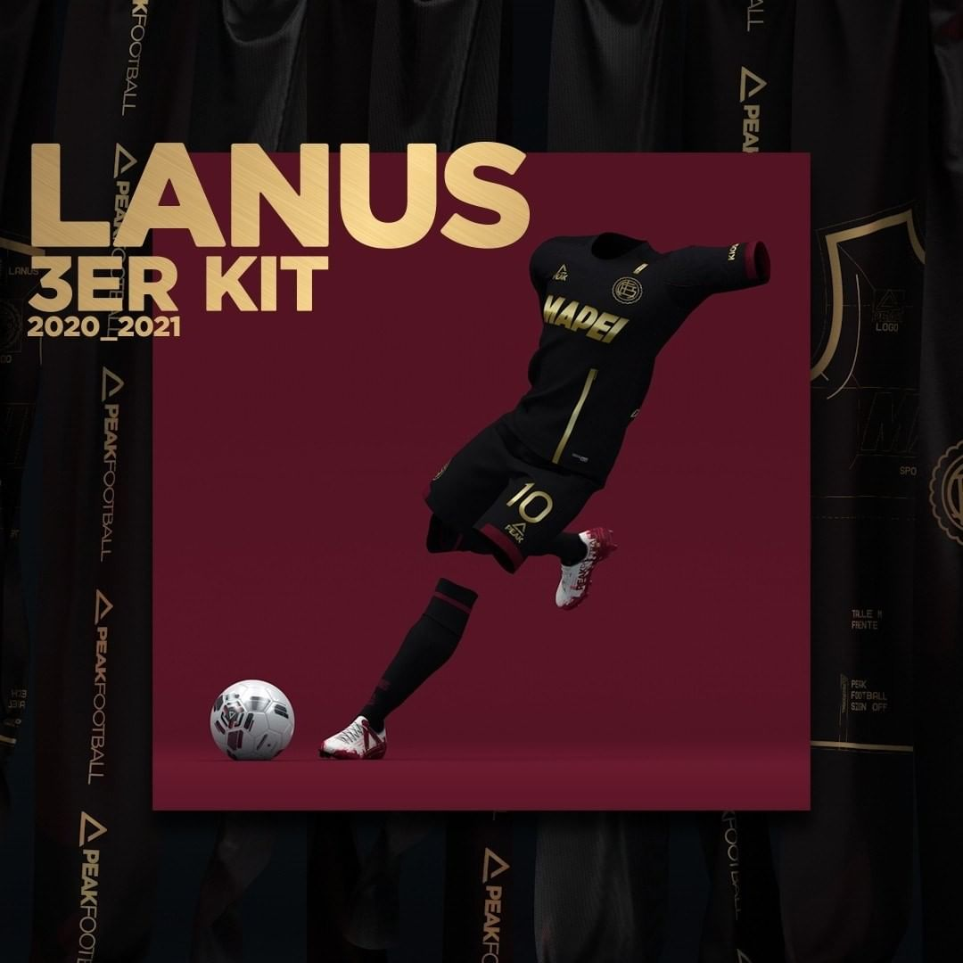 Terceira camisa do Lanus 2020-2021 Peak Sport