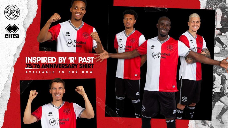 Terceira camisa do QPR 2020-2021 Erreà