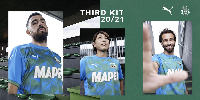 Terceira camisa do Sassuolo 2020-2021 PUMA