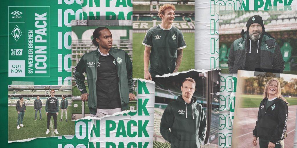 Umbro lança Icon Pack para o Werder Bremen