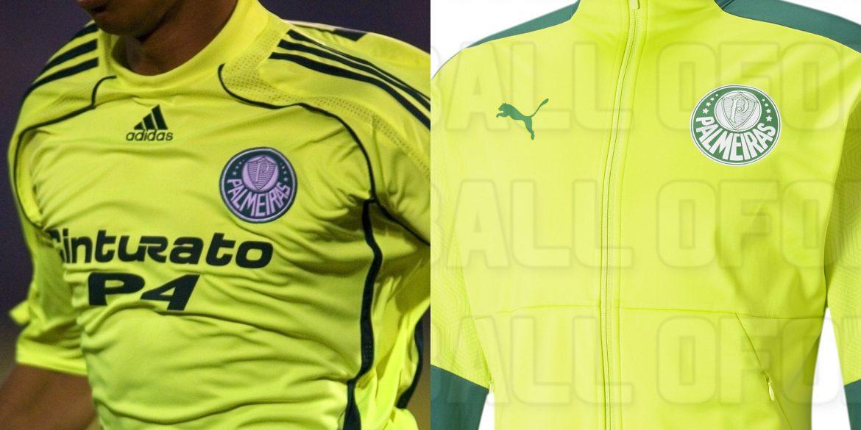 Volta do verde limão Coleção 21-22 do Palmeiras tem imagens antecipadas