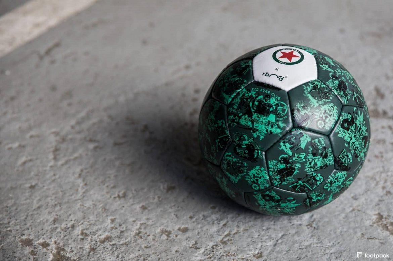 red star fc e rebond lançam bola especial histórica