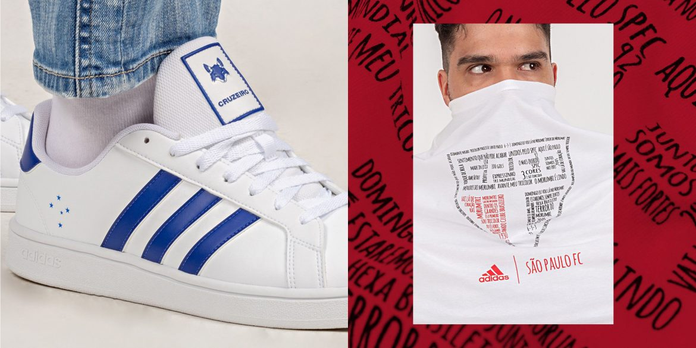 Adidas lança kits casuais para os times brasileiros