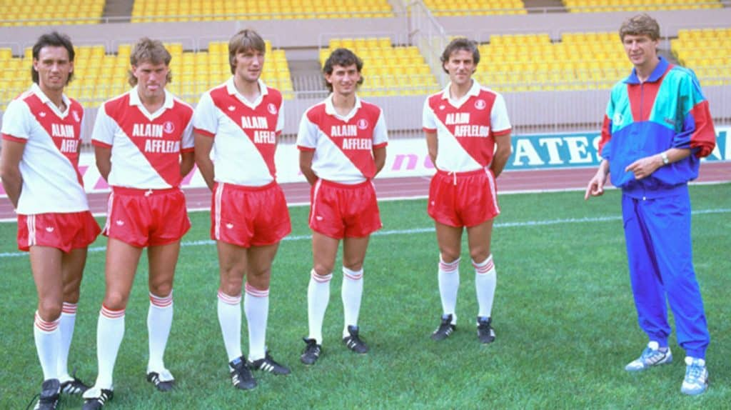 COPA Football lança camisa retrô de 1987-1988 para o AS Monaco
