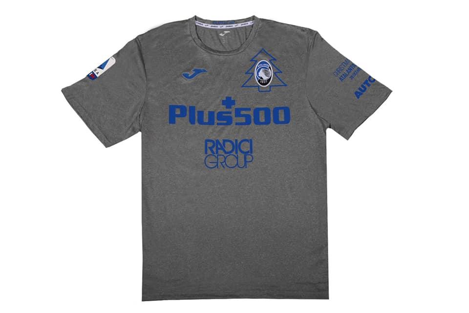 Camisa Natalina da Atalanta 2020 JOMA
