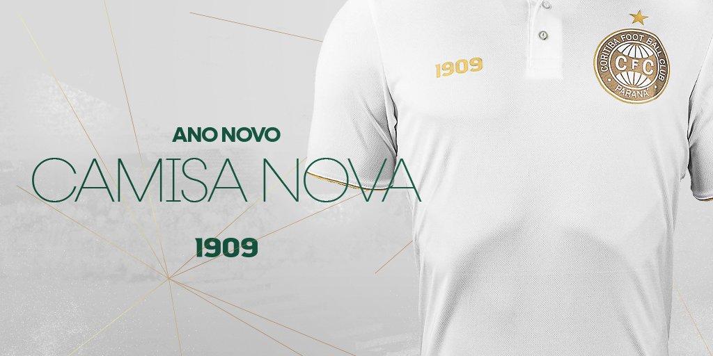 Camisa Reveillon 2021 Coritiba lança camisa para a virada de ano