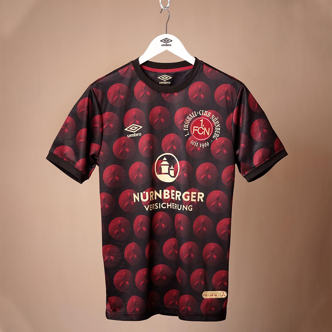 Camisa de Natal do Nuremberg 2020 Umbro