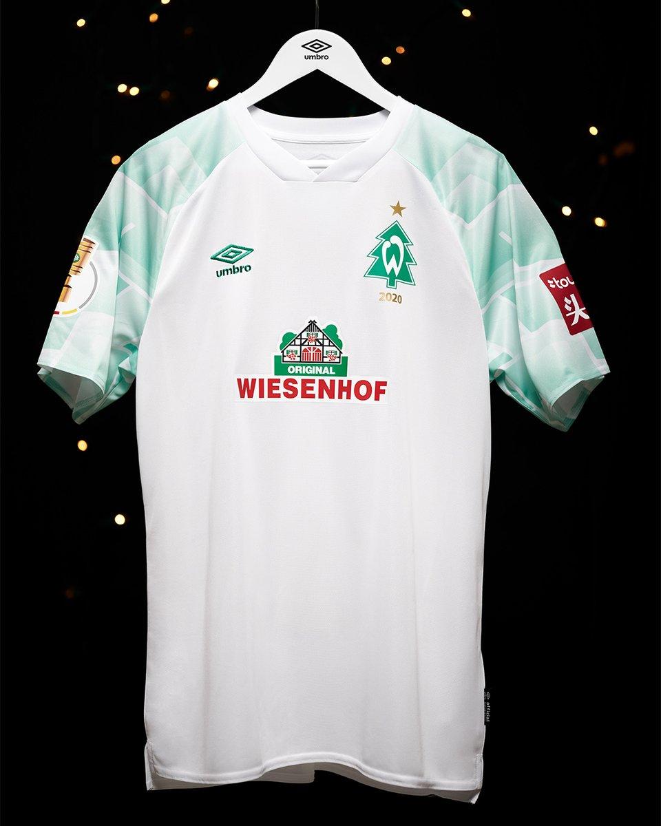 Camisa de Natal do Werder Bremen 2020 Umbro 1