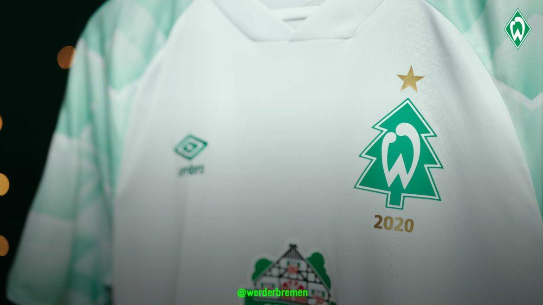 Camisa de Natal do Werder Bremen 2020 Umbro a
