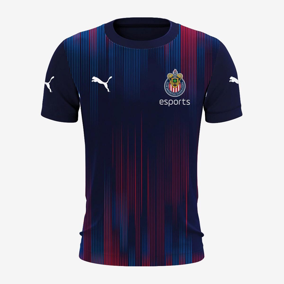 Camisa eSports do Chivas Guadalajara 2020-2021 PUMA