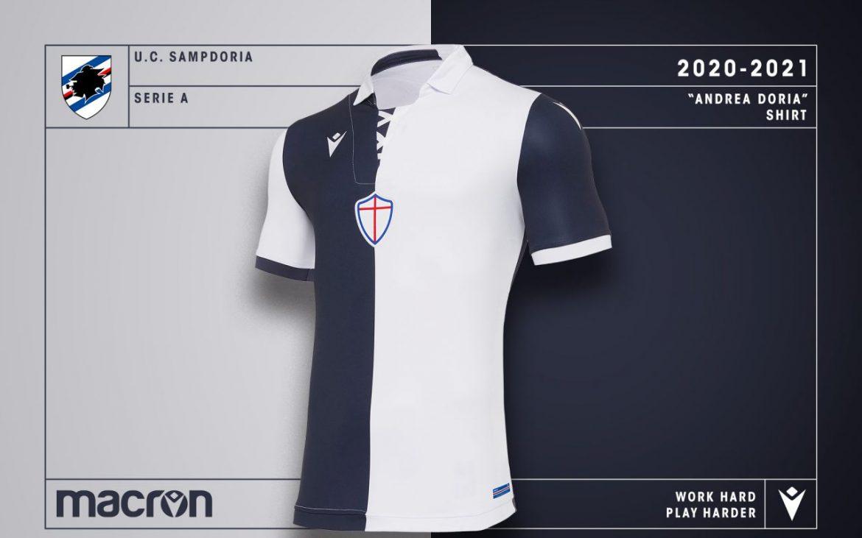 Sampdoria lança camisa de 120 anos de time fundador