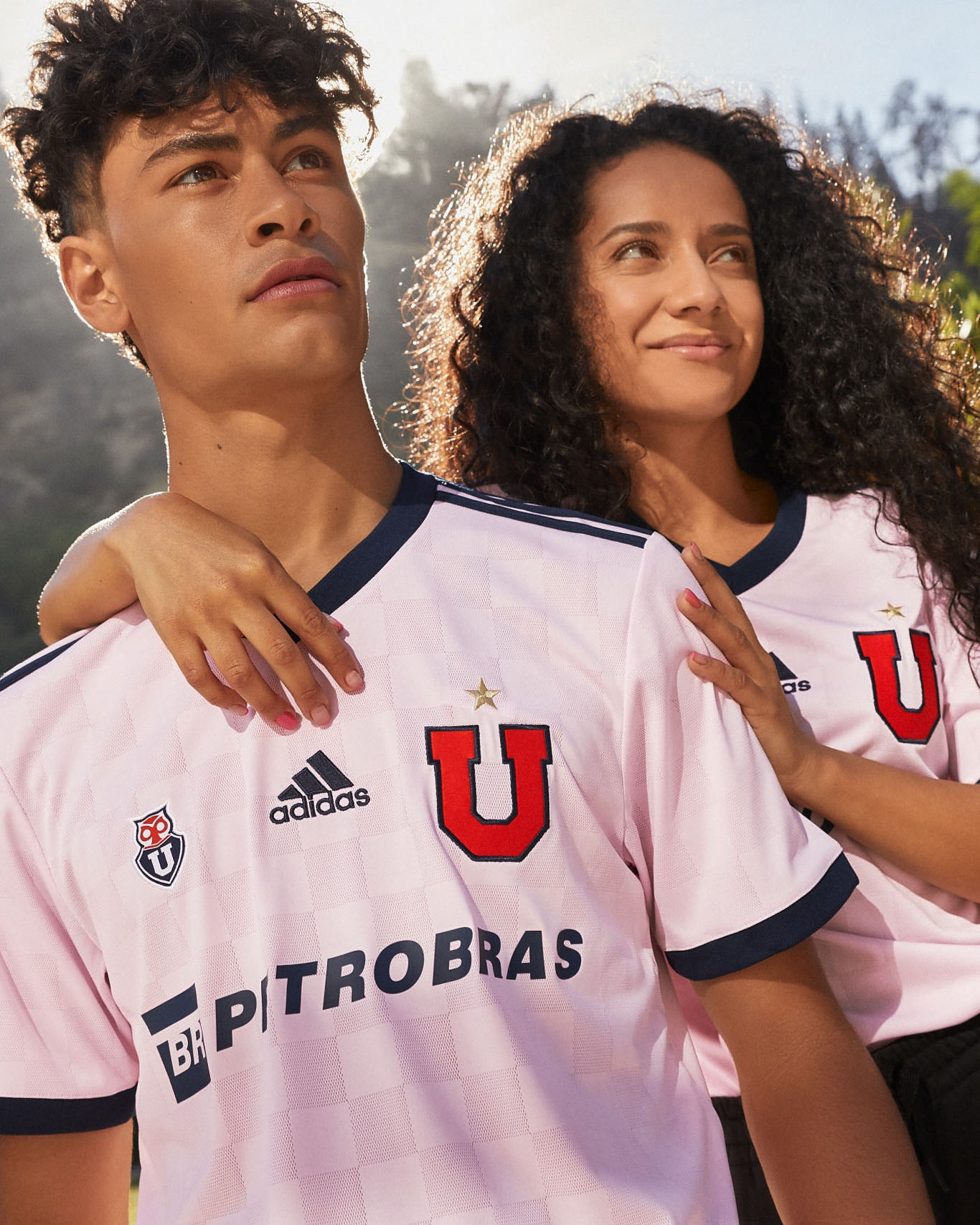 Camisa reserva da Universidad de Chile 2021 Adidas