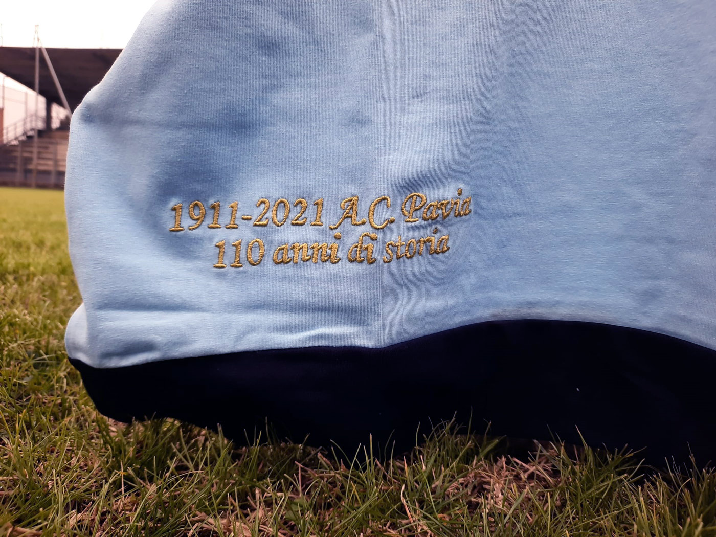 Camisa retrô dos 110 anos do Pavia 2021 Spensley