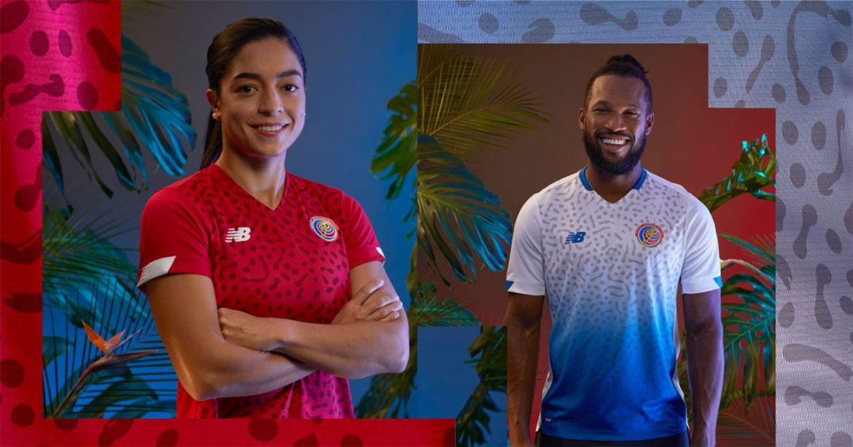 Camisas da Costa Rica 2021 New Balance a