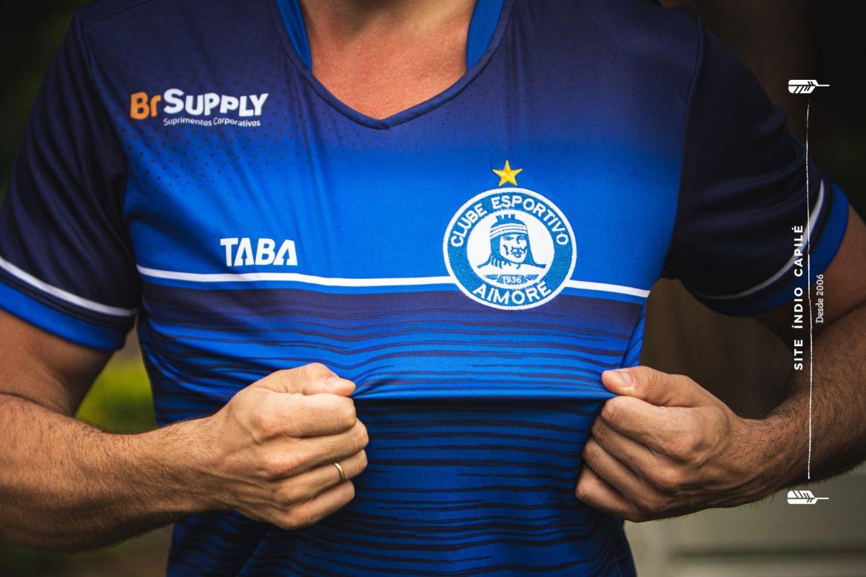 Camisas do CE Aimoré 2021 TABA 1