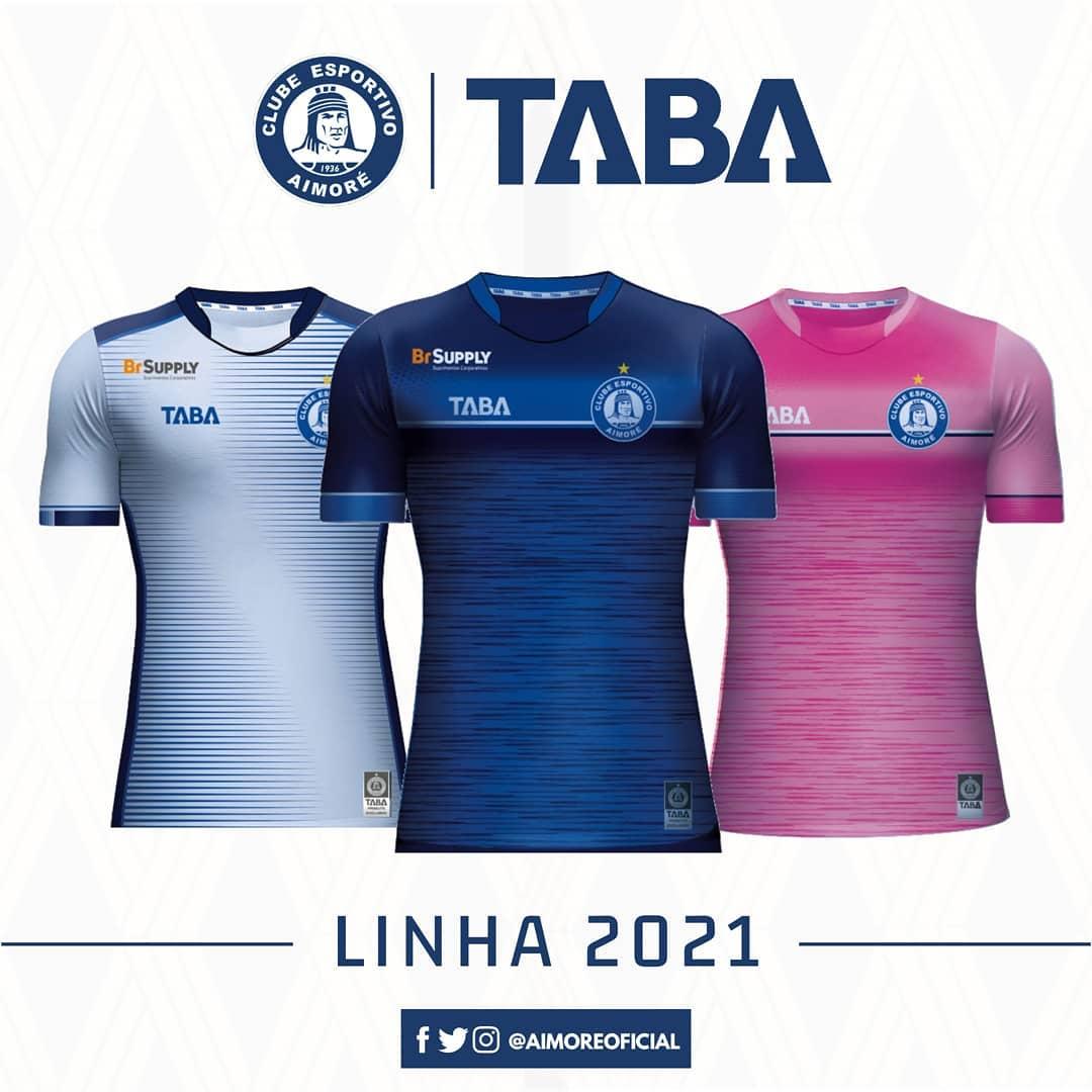 Camisas do CE Aimoré 2021 TABA