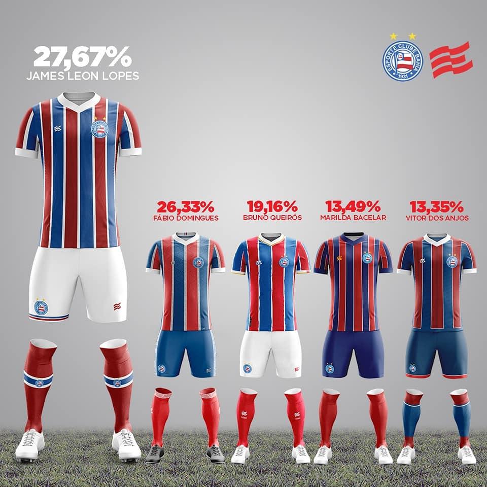 Camisas do EC Bahia 2021 Esquadrão