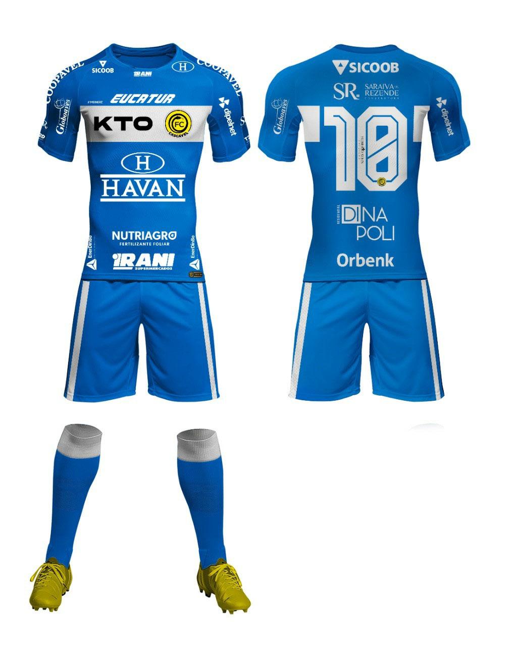 Camisas do FC Cascavel 2021 Meinerz