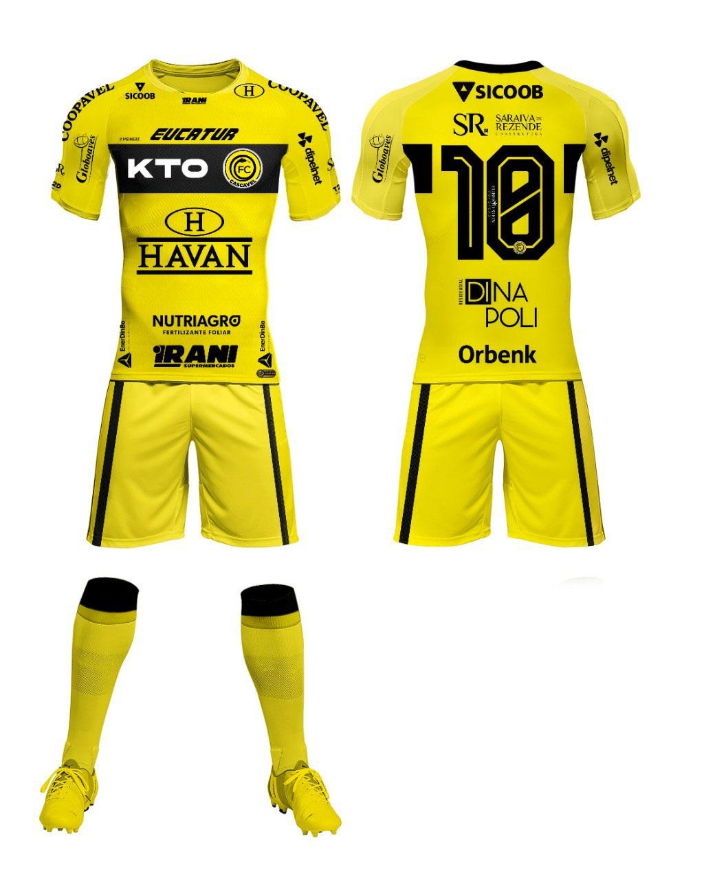Camisas do FC Cascavel 2021 Meinerz Reserva