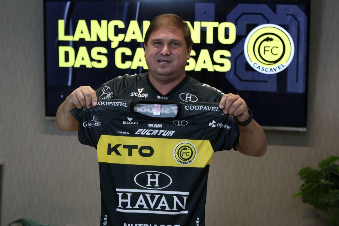 Camisas do FC Cascavel 2021 Meinerz a