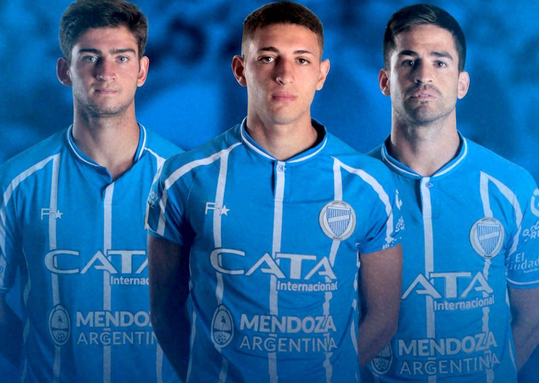 Camisas do Godoy Cruz 2021 Fiume Sport a