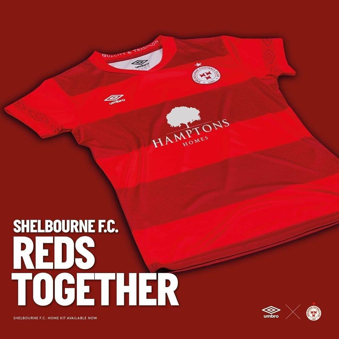 Camisas do Shelbourne FC 2021 Umbro