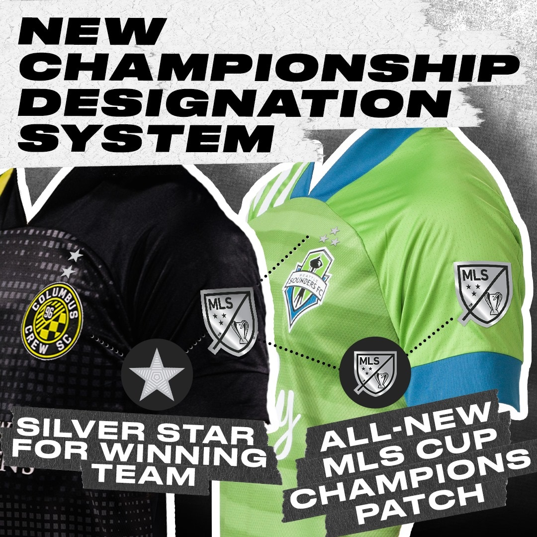 MLS apresenta novas regras de estrelas na camisa