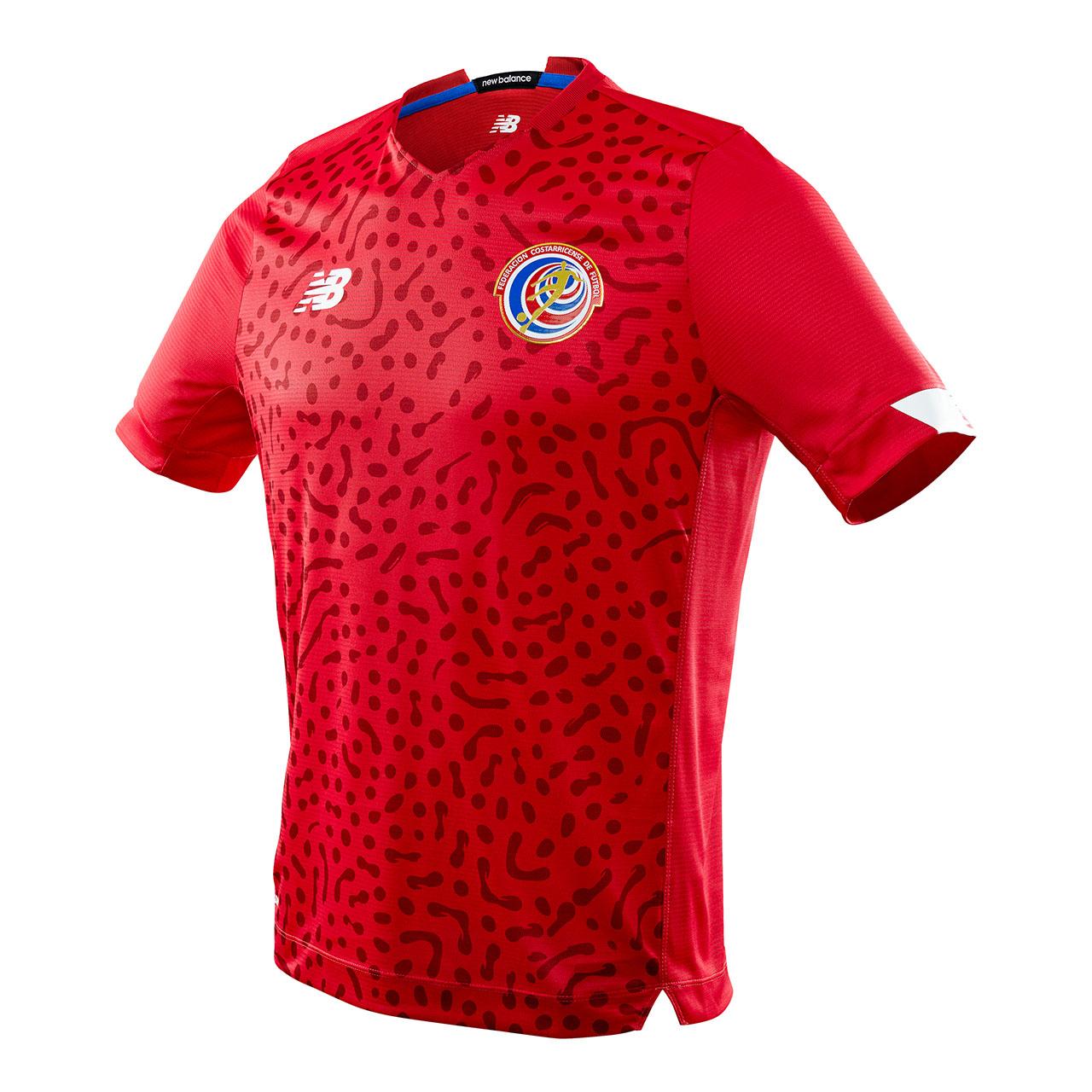 Camisas da Costa Rica 2021 New Balance
