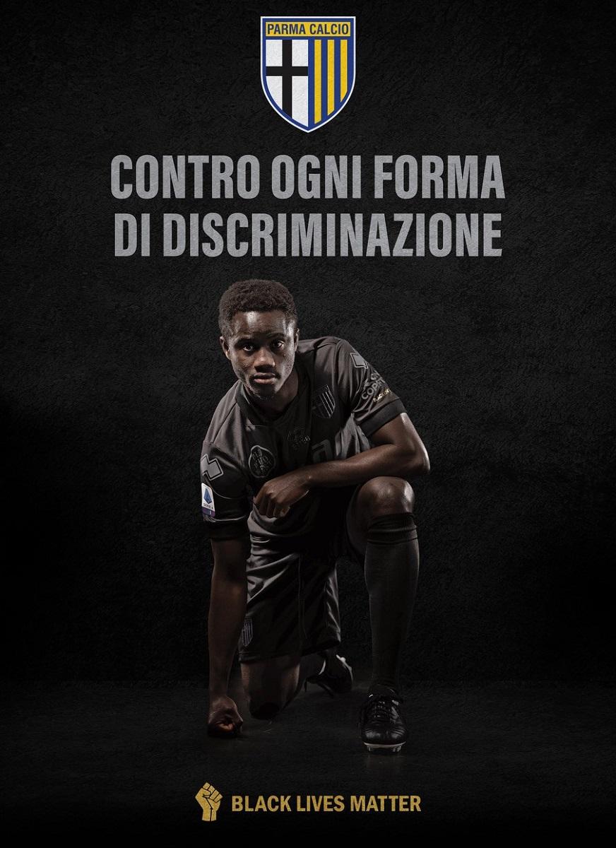 Parma e Erreà lançam camisa contra racismo