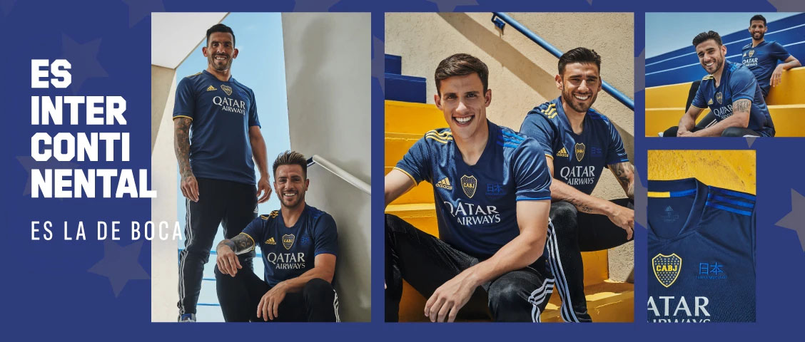 Quarta camisa do Boca Juniors 2020-2021 Adidas