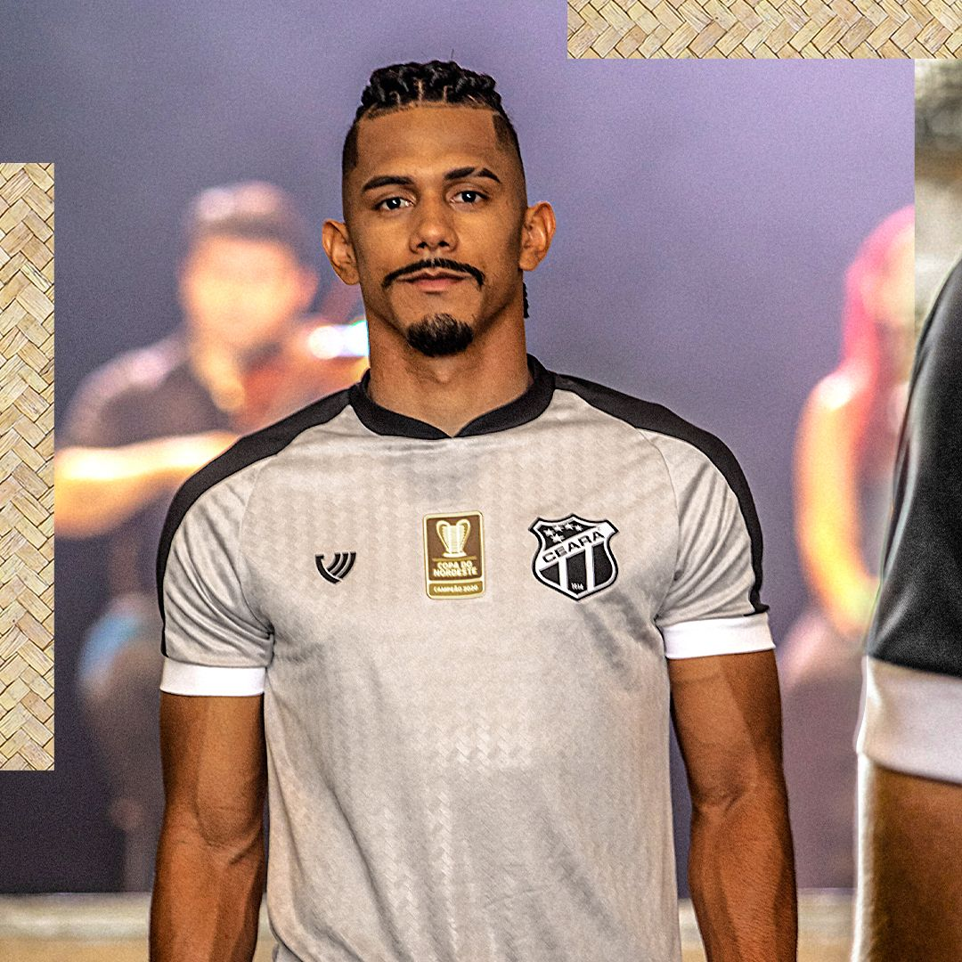 Sertão Alvinegro Camisa do Ceará Copa do Nordeste 2021 Vozão