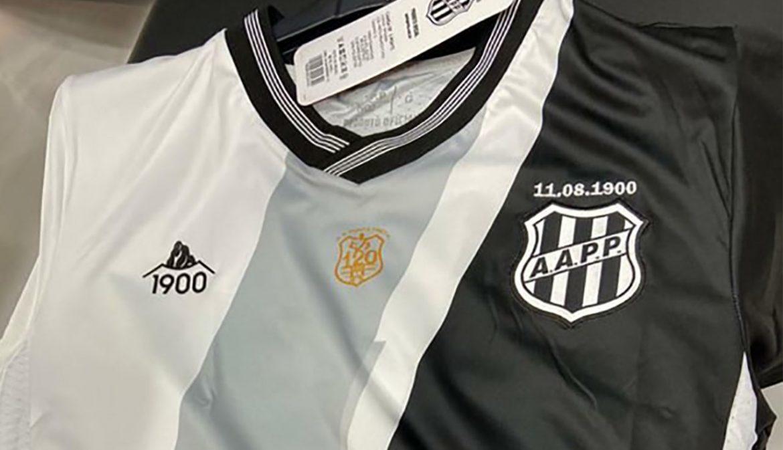 Terceira camisa da Ponte Preta 2020-2021 1900 a