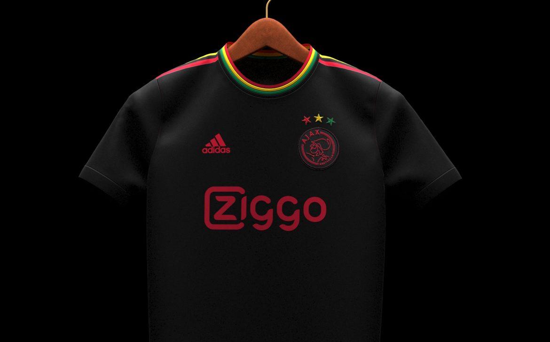 Terceira camisa do Ajax 2021-2022 Bob Marley a