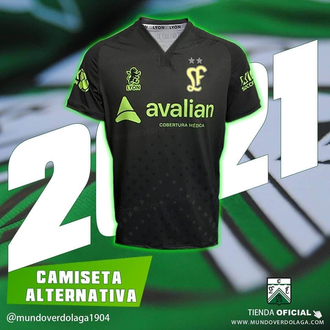 Terceira camisa do Ferro Carril 2020-2021 LYON